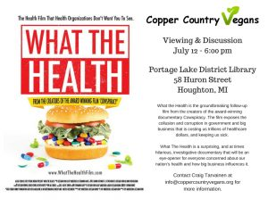 What the Health @ Portage Lake District Library | Houghton | Michigan | United States